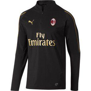 [754457-01] Mens AC Milan 1/4 Zip Top W/ Pockets